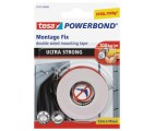 tesa Powerbond® Taśma montażowa Ultra Strong, 1,5 m x 19 mm