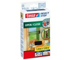 tesa® Moskitiery Insect stop Open/Close 1,30mx1,50m czarna